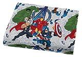 Marvel Avengers Blue Circle Twin Sheet Set- 3 Piece