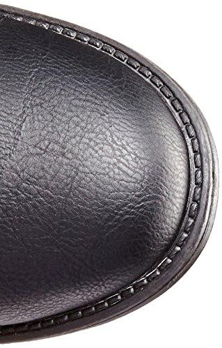Moda Women Pack Top Boots Black 72 a7qnnwR6dz