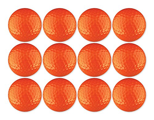 Golf Ball 12-Pack Colorful Blank