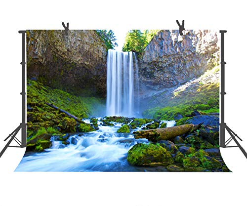 FUERMOR Backdrop 10x7ft Nature Waterfall Photography Studio Background Photo Props Room MuralS LHFU289