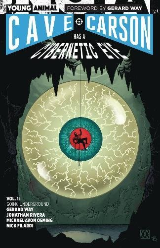 Book Cover: Cave Carson Has a Cybernetic Eye Vol. 1: Going Underground
