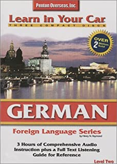 Learn in Your Car German Level 2: Foreign Language Series. 3 CD's, Listening Guide