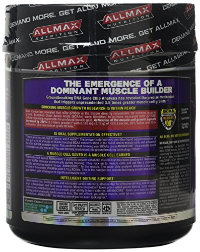 ALLMAX Nutrition Aminocore BCAAs, Fruit Punch, 462 g