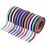 Outus Washi Tape Craft Tape Glitter Tapes Art Tapes Masking Tape for Art ...