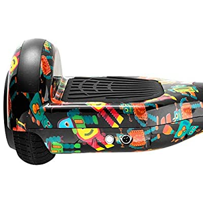 All Terrain Hooverboard Power Board Hoover Heart ul2272 Balancing Scooter: Sports & Outdoors