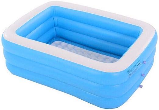 Más gruesa Bañera inflable baño Inflable adultos Plegable piscinas ...