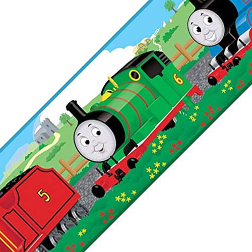 Thomas the Train - Peel and Stick - Wall Border by (Thomas The Train Border)