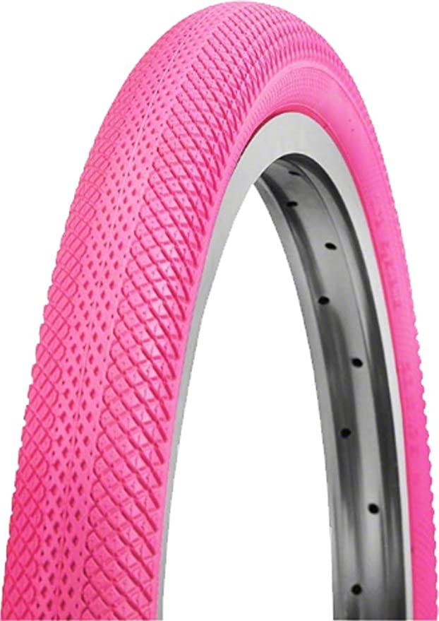 2-PACK Vee Rubber Speedster Bicycle Tire 20 x 1.6 Red//Black PAIR