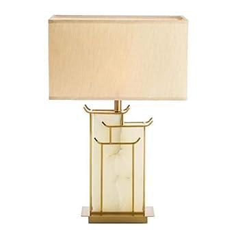 YHFX2Lámparas de escritorio Lámpara de mesa de mármol, estilo ...
