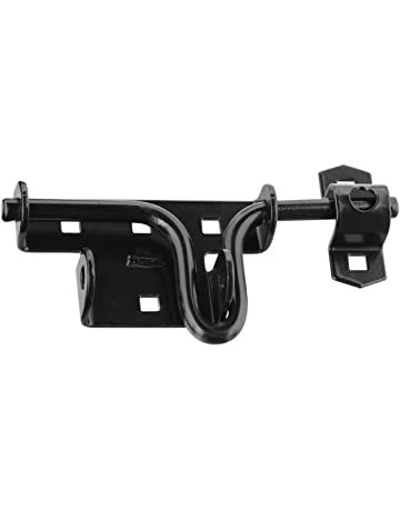 National Mfg N165506 Slide/Sliding Bolt Door/Gate Latch, Satin Black