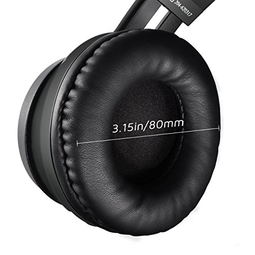 9e9f26a74b7 Mpow Thor Bluetooth Headphones On Ear, 40mm Driver Wireless Headset Foldable  with Mic, Wired