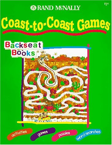 Coast-To-Coast Games (Backseat Books) by Brand: Rand Mcnally (Image #1)