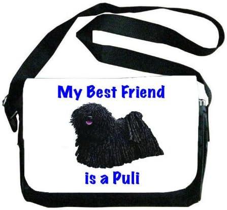 My Best Friend is Komondor Messenger Bag