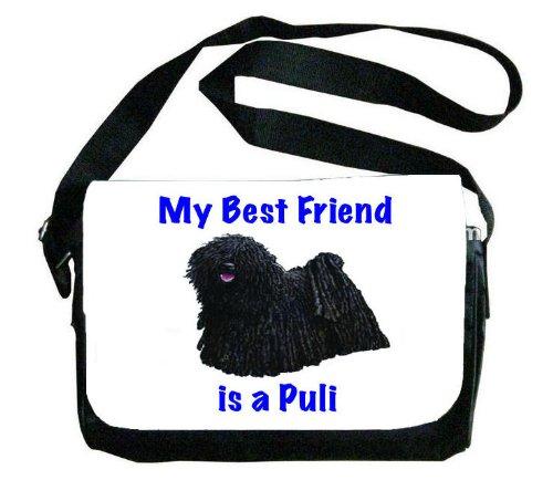 My Best Friend is Puli Messenger Bag