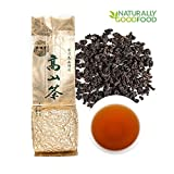 Yan Hou Tang - 10 Years Organic Taiwan Ginseng Aged Black Oolong Tea Loose Leaf Gunpowder Formosa High Mountain Honey Flavor Taste Deep fermented Wulong Grown Winter Help Repose Green Food US FDA SGS
