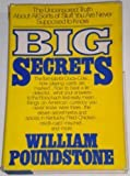 Big Secrets, William Poundstone, 0688022197
