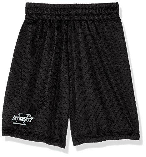 Intensity Youth Nylon Eyelet Mesh Shorts, Black, (Nylon Eyelet)