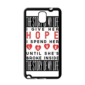 Premium Rubber TPU Protective Case for Samsung Galaxy Note 3 III [1D One Direction]