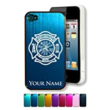 Engraved Aluminum iPhone 5s Case/Cover - FIREMAN WIFE / FIREFIGHTER - Personalized for FREE (Click the CONTACT SELLER button after purchase and send a message with your case color and engraving request)