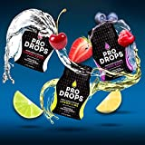 Pro Drops Amino Acids Boost B Vitamins Energy Water Enhancer Fruit Flavored 5g Collagen Protein 90 Total Servings, Variety 3 Packs Cherry Lemon Berry For Sale