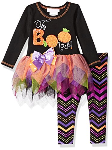 Bonnie Baby Halloween Outfit - Bonnie Baby Baby Girls Appliqued Tutu