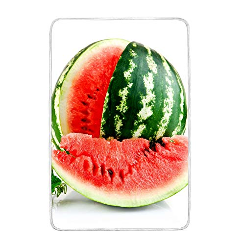 suhongliang 3D Printed Watermelon Slice Vegetable/Sofa Soft