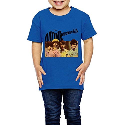 tanxj-unisex-childrens-kids-monkees-t-shirts-2-6-years