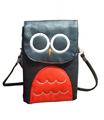 Jessidress Tasche Mädchen Handtasche Kindergartentasche Schultertasche Handtasche Schwarz