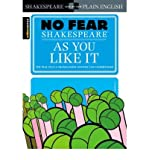 img - for As You Like it (Sparknotes No Fear Shakespeare) (Paperback) - Common book / textbook / text book