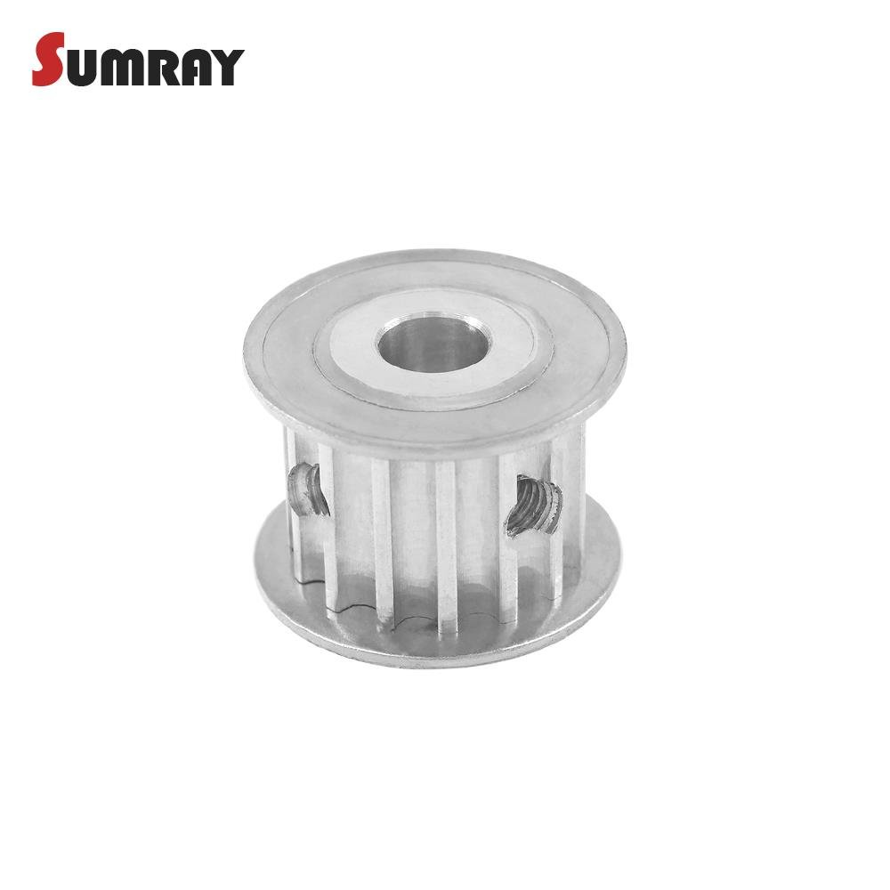 Htd5m Timing Pulley 15t Bore 5 6 635 7 8 10mm Gear Cnc Belts And Pulleys 16mm Belt Width For 3d Printer Machines Industrial Scientific