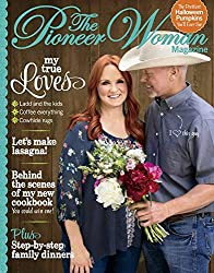 Ree Drummond shares her enthusiasm for the simple joys in life and inspires readers with her newest creation, The Pioneer Woman Magazine. Each issue is like a day with a good friend, full of helpful advice, great recipes, fun shopping and heartfelt s...