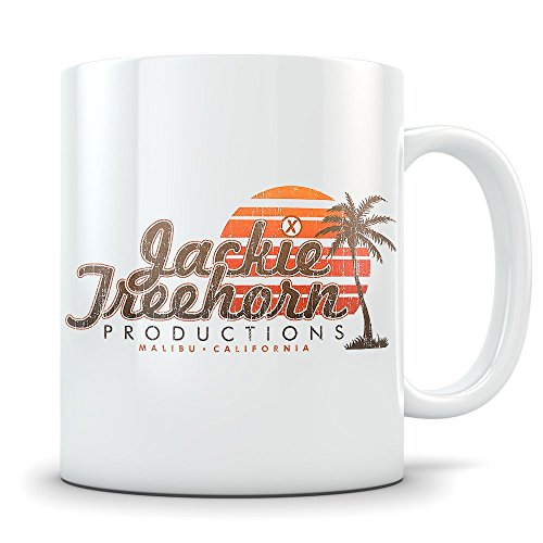 [Big Lebowski Mug - Funny Porno Company Coffee Cup - Great Gift Mug for Fans of The Movie - Jackie Treehorn Productions] (Lebowski Rug Costume)