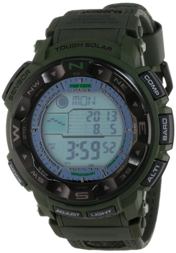 (Casio Men's PRW-2500B-3CR ProTrek Tough Solar Atomic Digital Watch)