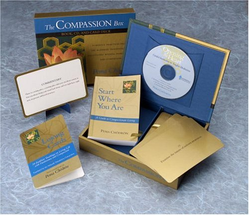 The Compassion Box: Book, CD, and Card Deck by Shambhala