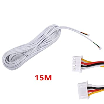 mountainone 15 m 2,54 * 4P 4-Core Draht Kabel für video ...