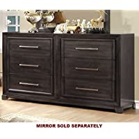 247SHOPATHOME Idf-7780D, dresser, Dark Gray