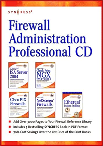 Amazon buy firewall administration professional cd isa server amazon buy firewall administration professional cd isa server check point pix ethereal book online at low prices in india firewall administration fandeluxe Images