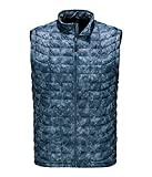 north face thermal vest - The North Face M Thermoball Vest Shady Blue Process Print Mens L