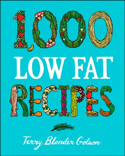 1,000 Low Fat Recipes by Terry Blonder Golson
