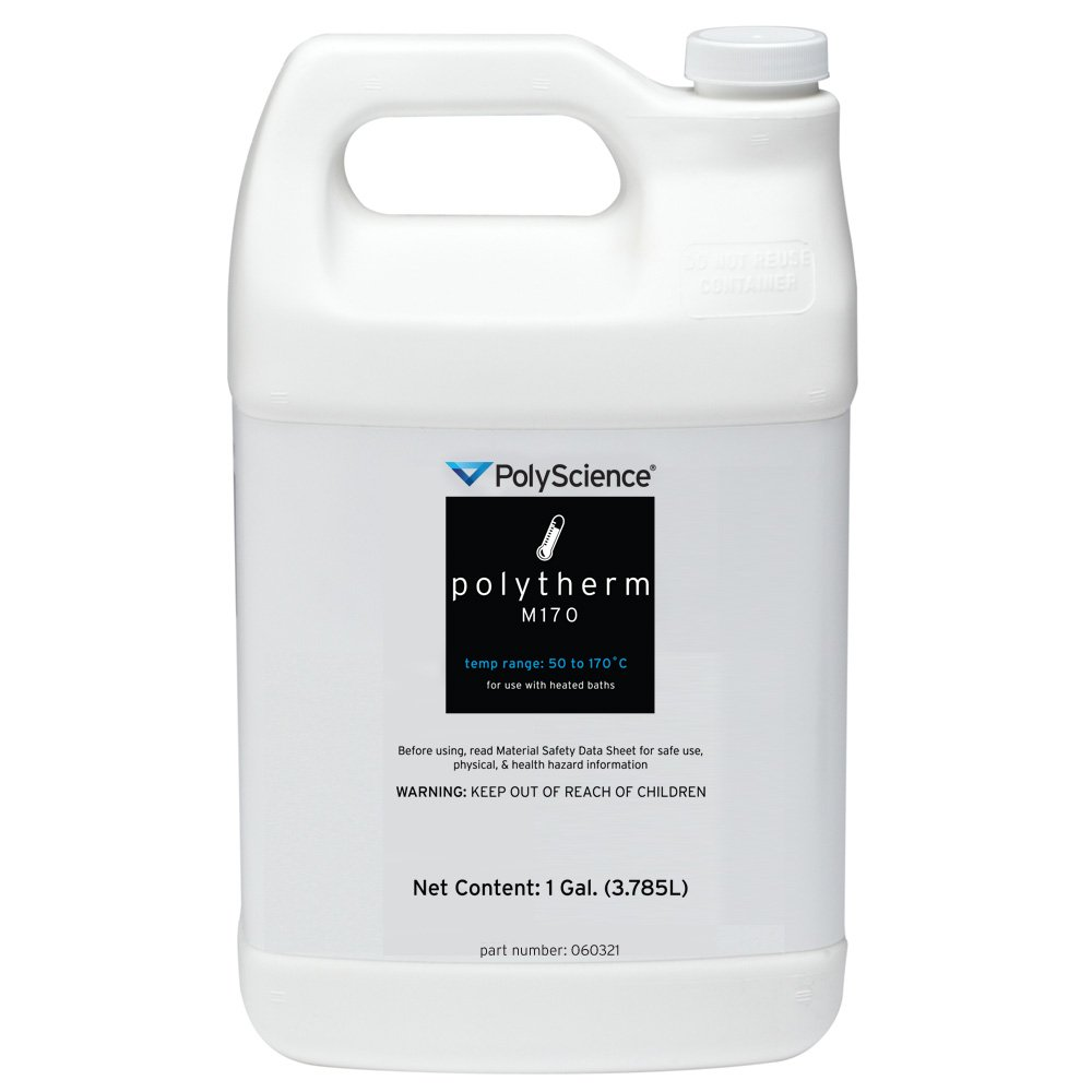 PolyScience Polytherm M170 Mineral Oil Water Bath Fluid, 1 Gallon Bottle