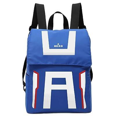 GK-O My Hero Academia Backpack Shoulder bag Schoolbag knapsack Laptop bag Cosplay Costume (Gym suit style)   Kids' Backpacks