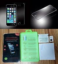 Protector de Pantalla para Iphone 5/5S/5C Cristal Vidrio Templado Premium de Electrónica Rey®