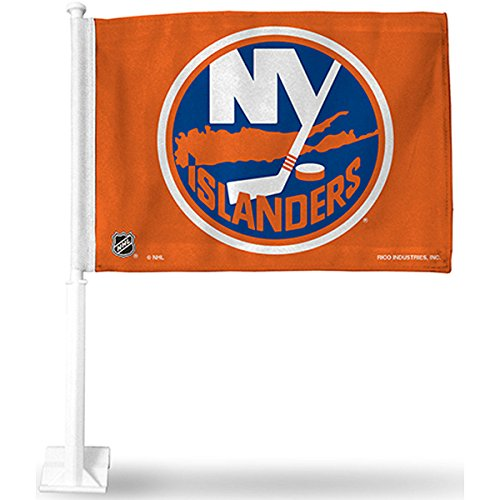 Rico New York Islanders Car Flag - New York Islanders One Size