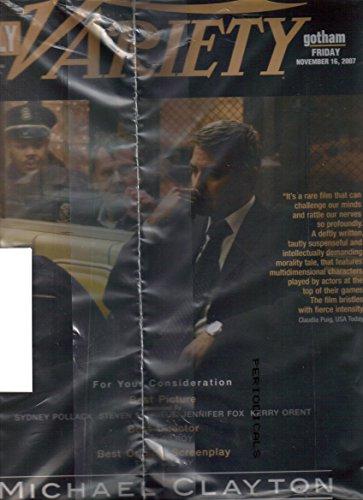 DAILY VARIETY Magazine (November 16, ()