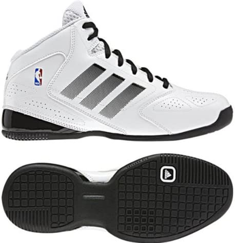 adidas 3 Series 2012 NBA Blanc Noir Taille : 36.5