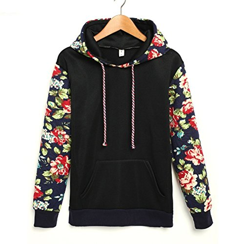 Vintage pure flower sleeve women's sweater and hoodie