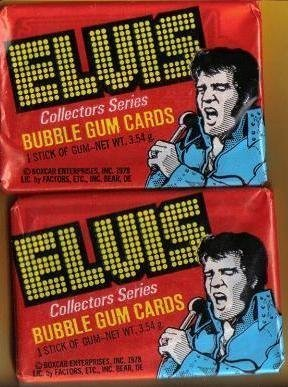 ELVIS Presley 1978 Donruss Boxcar Inc. Trading Cards - 2 Original Unopened Packs by Carbox