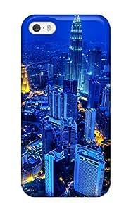 Tpu Fashionable Design Kuala Lumpur Scenery Rugged Case Cover For Iphone 5/5s New 7440238K75381875