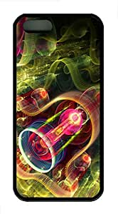 iPhone 5s Case, iPhone 5s Cases - Psychedelic Lantern TPU Polycarbonate Hard Case Back Cover for iPhone 5s¨CBlack