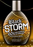 Millenium Tanning Black Storm Premium Tanning Lotion, Extreme Silicone Bronzer, 60x, 13.5-Ounce, Health Care Stuffs